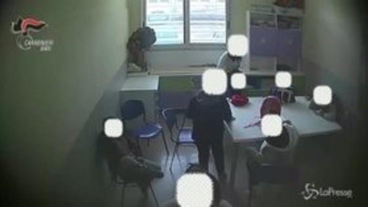 Minori autistici legati e maltrattati nel Barese: il video choc