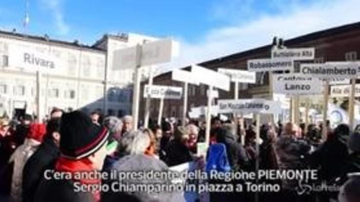 """Tav, Chiamparino: """"In piazza perché il governo decida"""""""