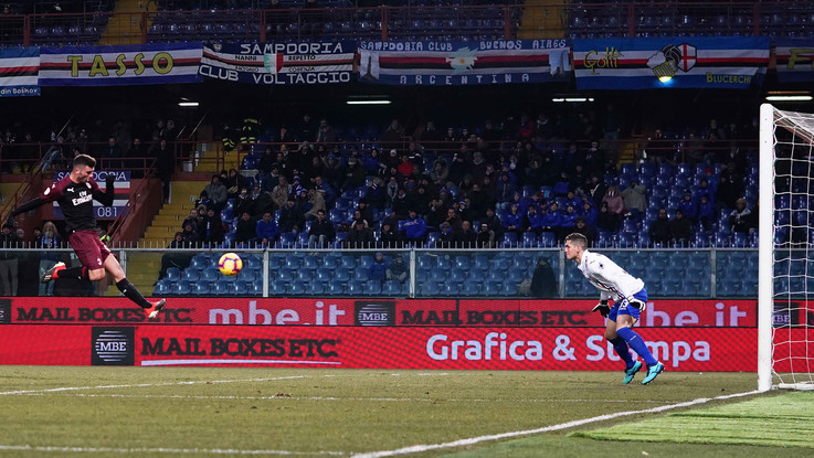 Coppa Italia: Reina salva, Cutrone decide. Milan ai quarti, Sampdoria ko 2-0 ai supplementari