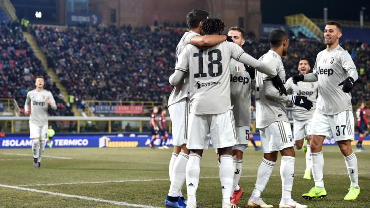Coppa Italia, Bernardeschi e Kean stendono il Bologna: Juve 2-0 e ai quarti