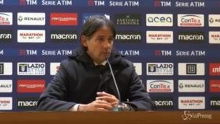 """Lazio, Inzaghi: """"Bravi ragazzi, mi dispiace solo per il gol subito"""""""