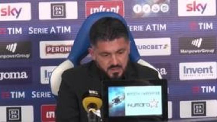 """Gattuso: """"Non ho ancora capito quali sono i malumori di Higuain"""""""