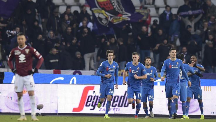 Coppa Italia, Torino-Fiorentina 0-2 | Il fotoracconto