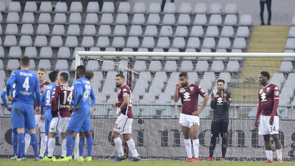 Le squadre attendono il verdetto sul secondo gol, poi convalidato ©