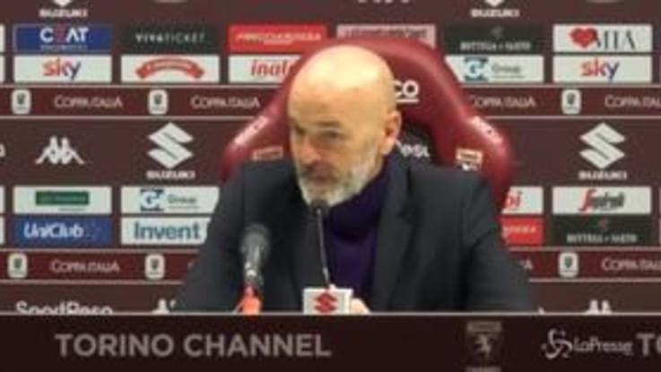 """Torino-Fiorentina, Pioli: """"La squadra ha dato risposte positive"""""""
