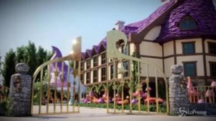 Gardaland, dormire tra fiori e funghi giganti:  il primo polo italiano di hotel a tema