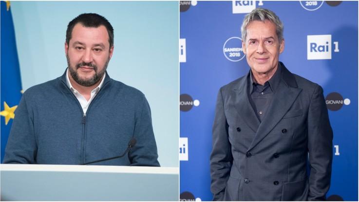 """Sanremo, scemano le polemiche sui migranti. Salvini: """"Lo guarderò"""""""