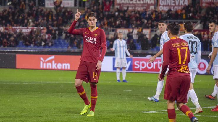Coppa Italia, Roma-Entella 4-0 | Il Fotoracconto