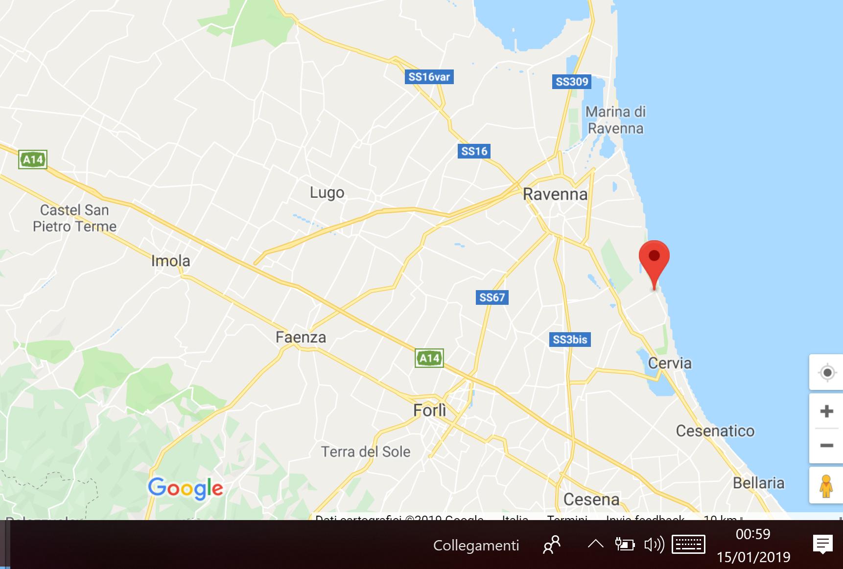 Terremoto di magnitudo 4,6 a Ravenna. Non ci sono danni a persone o cose