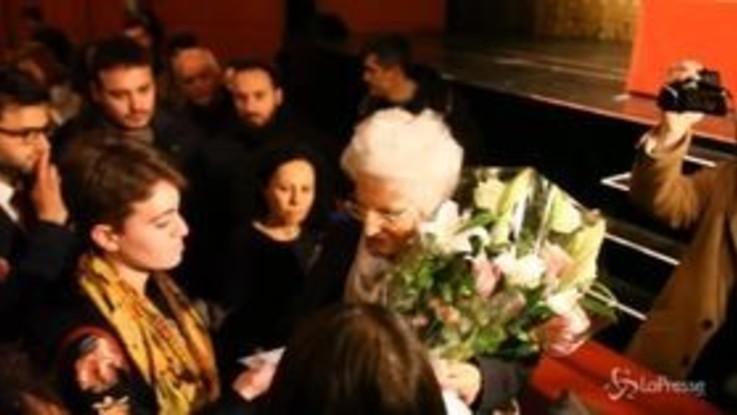 """Milano, Liliana Segre incontra gli studenti: """"Preoccupata per l'Europa"""""""