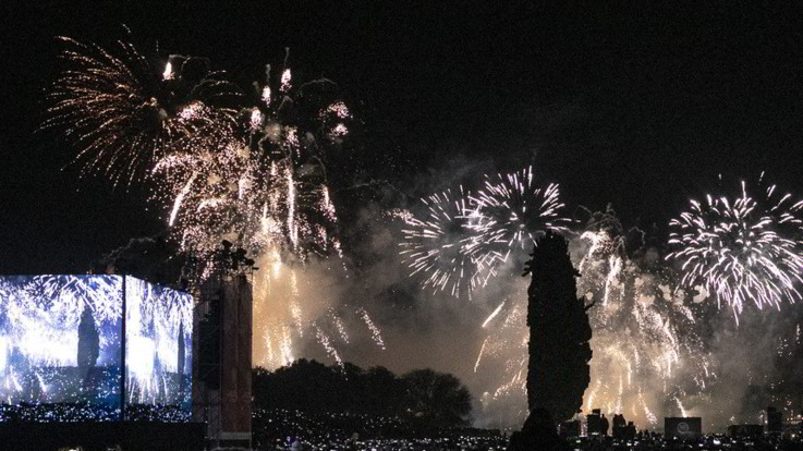 Palermo, fa esplodere fuochi d'artificio a un funerale, denunciato