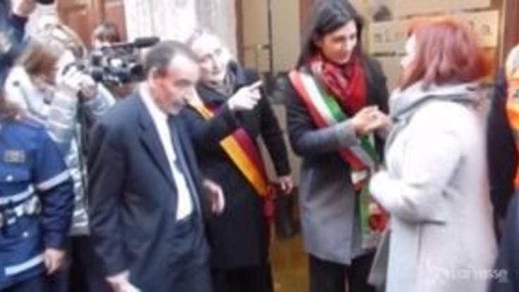 Roma, ricollocate a Monti le pietre della memoria rubate a dicembre