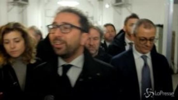 """Arresto Battisti, Bonafede: """"Nessun accanimento, ma chi sbaglia paga"""""""