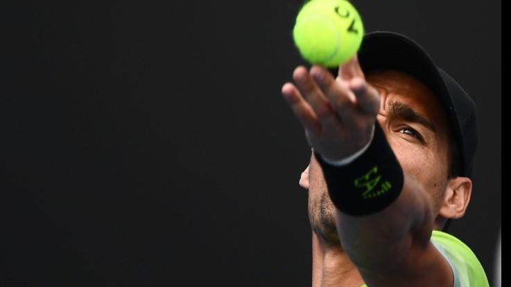 Tennis, avanti Fognini e Giorgi, fuori Cecchinato agli Australian Open