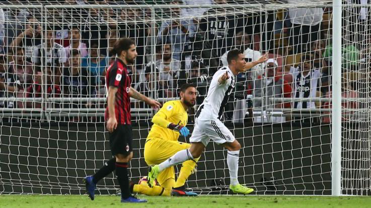 Supercoppa Italiana, solito Ronaldo: la Juve mette ko 1-0 il Milan