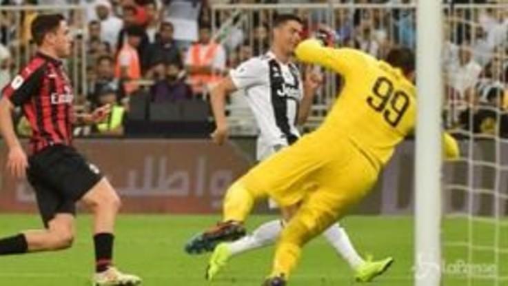 Supercoppa, decide CR7: la Juve mette ko 1-0 il Milan