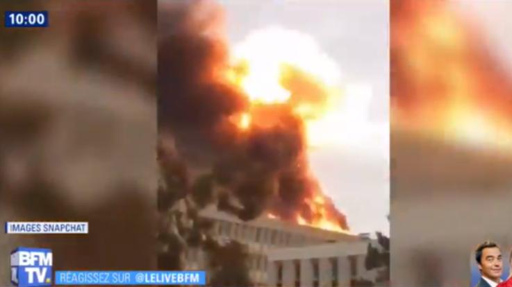 Francia, fiamme ed esplosioni all'università di Lione