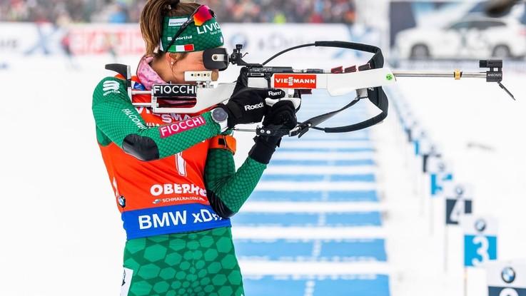 Biathlon, Vittozzi scatenata. E' sul podio anche nella sprint di Ruhpolding