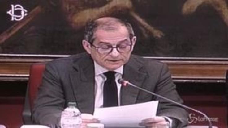 """Carige, Tria: """"Il governo auspica soluzione privata alla crisi"""""""