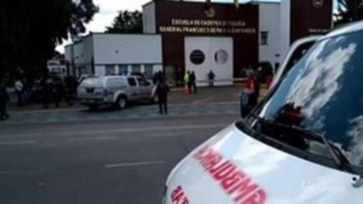 Colombia, autobomba in una scuola di polizia a Bogotà: almeno 8 morti
