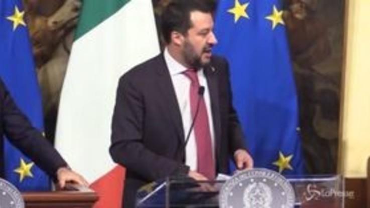 """Decretone, Salvini: """"Prima vertici sui rimpasti, noi su fatti concreti"""""""
