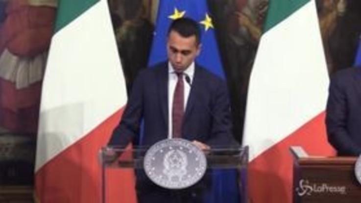"""Di Maio, pensioni di cittadinanza: """"Si va da 780 a 1032 euro al mese"""""""