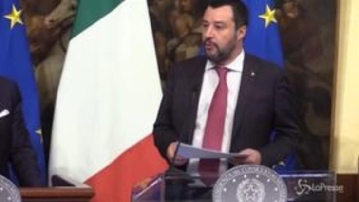 "Decretone, Salvini: ""Un'autostrada aperta per tantissimi italiani"""