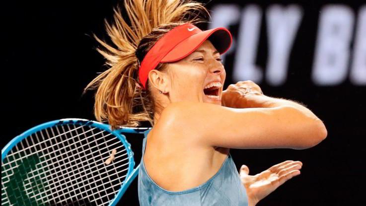 Australian Open, la grande battaglia tra Maria Sharapova e Caroline Wozniacki