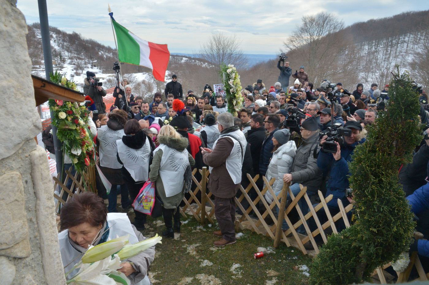 """Rigopiano, due anni dopo la tragedia. Salvini e Di Maio: """"Lo Stato c'è"""""""