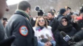 Rigopiano, le immagini dell'incontro tra Salvini e i parenti delle vittime