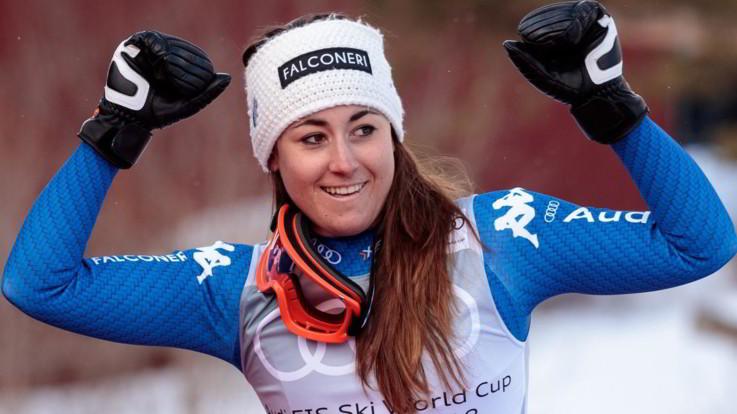 """Il ritorno di Sofia Goggia: """"A fine gennaio prenderò parte alle prove di discesa a Garmisch"""""""