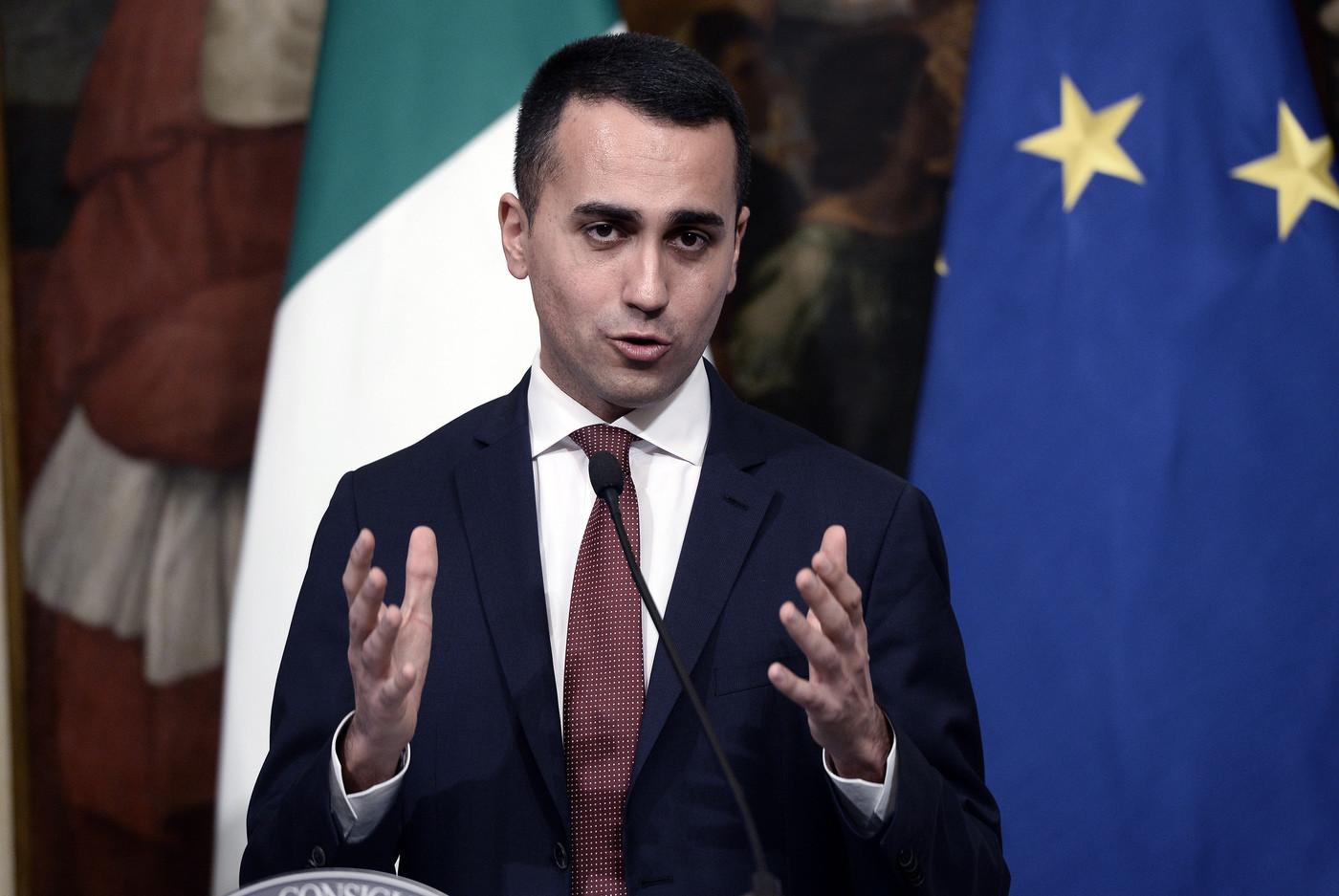 """Di Maio contro Bankitalia: """"Non è la prima volta che sbaglia le stime"""""""
