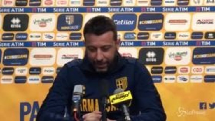 """Parma, D'Aversa: """"Ripartire con cattiveria e determinazione"""""""