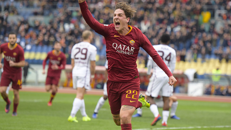Serie A, super Zaniolo lancia la Roma: Toro ko e aggancio al quarto posto