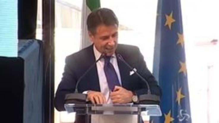 """Conte: """"Dal riscatto di Matera parte il riscatto di tutto il Sud"""""""