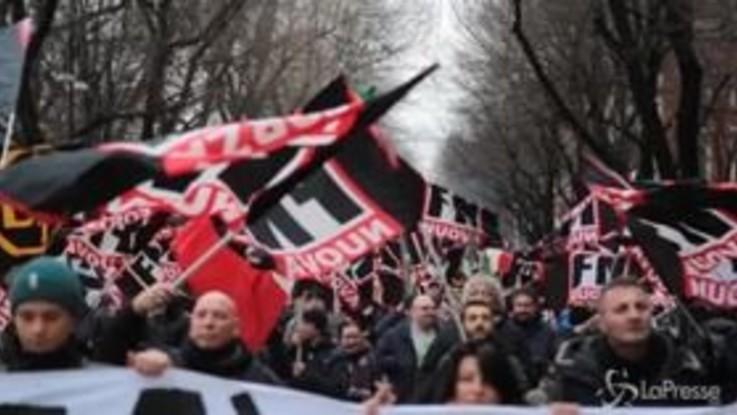 """Forza Nuova, Fiore: """"Non basta il populismo, serve la rivoluzione"""""""