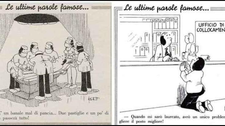 """Addio a Bort, il fumettista della Settimana Enigmistica: inventò il detto """"Le ultime parole famose"""""""