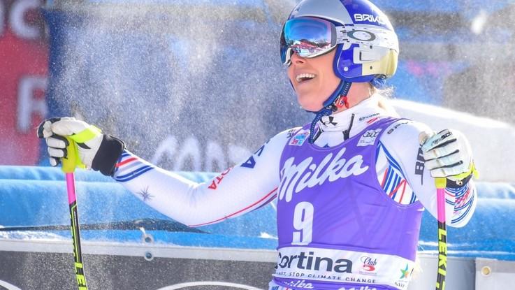 """Cortina, Vonn: """"Potrebbe essere stata la mia ultima gara"""". E Goggia si inchina davanti a lei"""