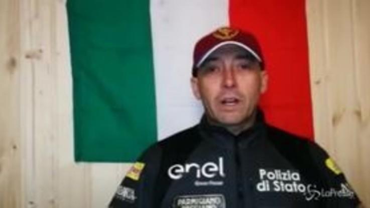 """Venturini, 39km in Russia a -52°: """"Ho ancora i segni dell'impresa sulle mani"""""""