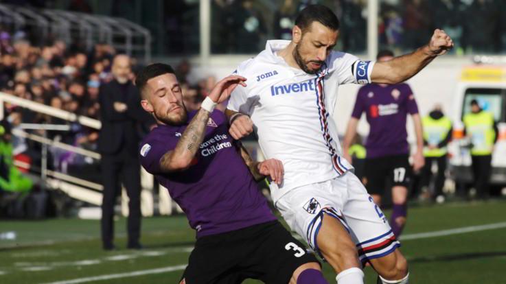 Serie A, Fiorentina-Sampdoria 3-3   Il fotoracconto