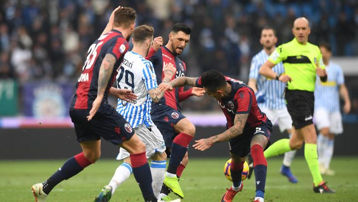 Serie A, Spal-Bologna 1-1   Il fotoracconto