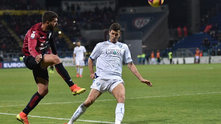 Serie A, Cagliari pareggia allo scadere: Farias gela Empoli e fa 2-2