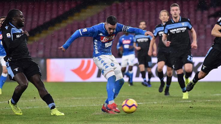 Serie A: Napoli-Lazio 2-1 - Il Fotoracconto