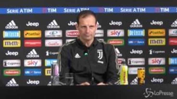 """Juve, Allegri: """"Non adagiarsi, rispetto per Chievo"""""""