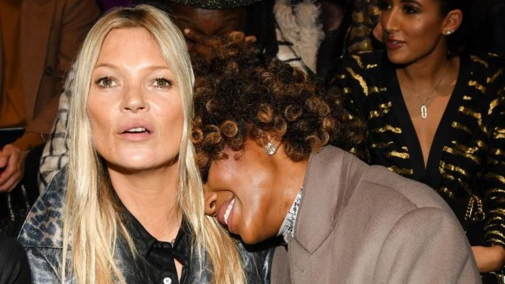 Naomi Campbell e Kate Moss, amiche modelle: le risate alla Parigi Fashion Week