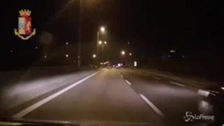 Monza, tassista travolto e ucciso: il video dello schianto
