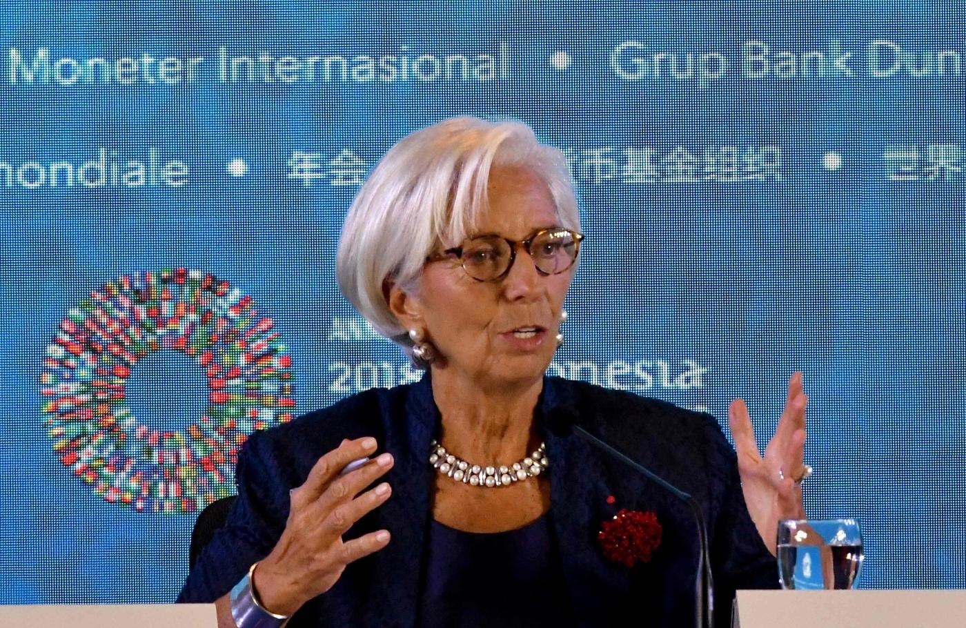 Il Fmi taglia le stime sul Pil italiano: crescita dello 0,6% per il 2019