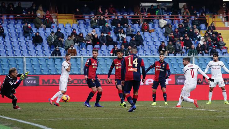 Serie A, Genoa-Milan 0-2: Borini e Suso portano i rossoneri in zona Champions