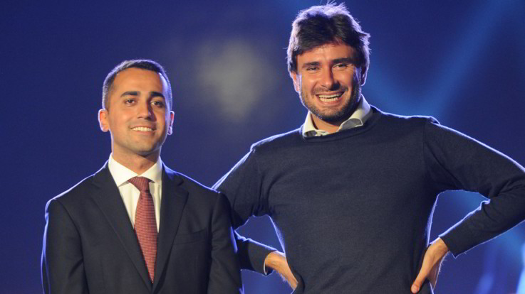 """Di Maio e Di Battista, M5S a 'due punte': """"Tornare tra la gente, ma occhio a finire come Renzi"""""""