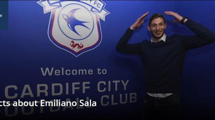 Scompare piccolo aereo sulla Manica, a bordo il calciatore Emiliano Sala del Cardiff City